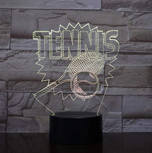 Luz de noche pequeña forma de tenis 3D luz de noche pequeña 7 variaciones de color lámpara de mesa USB ventiladores de tenis decoración del hogar LED luz para dormir regalo