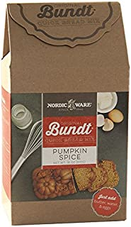 Nordic Ware 77726 Gourmet Bundt Pumpkin Spice Quickbread Mix, Brown
