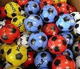 Paquete de 12 balones de fútbol de PVC, de 25 cm de diámetro (desinflado), de colores variados