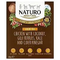 [Naturo] Naturo粒自由チキン成犬用フード400グラム - Naturo Grain Free Chicken Adult Dog Food 400G [並行輸入品]