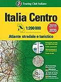 Atlante stradale Italia Centro 1:200.000. Ediz. multilingue