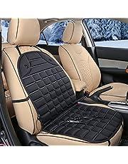 KJshop ホットカーシート 12V 座席ヒートクッション シートヒーター 車載 防寒