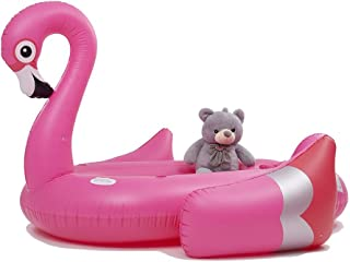 Posch Sports Flamingo Lake Float for Family & Friends (Max. 4 Person) River Floatie Lounger