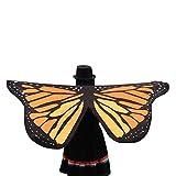 OverDose Damen Karneval Mode Stil Weiche Stoff Schmetterlingsflügel Fee Damen Nymphe Pixie Schlank...