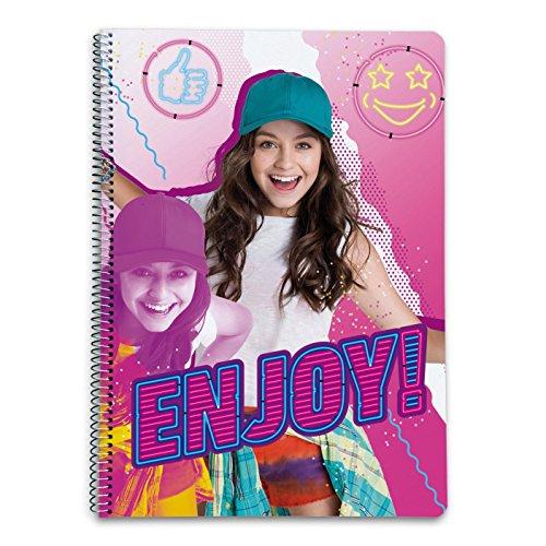 Grupo Erik Editores Cuaderno Tapa Dura A4 5X5 Soy Luna