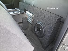 99-06 Chevy Silverado/GMC Sierra Regular Cab Dual 12 Subwoofer Box with Amp Space