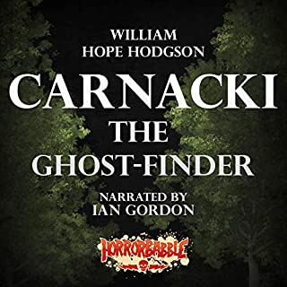 HorrorBabble's Carnacki, the Ghost-Finder audiobook cover art