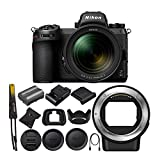 Nikon Z 6II FX-Format Mirrorless Camera with NIKKOR Z 24-70 and FTZ Mount Adapter Bundle (2 Items)