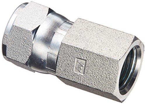 Brennan Industries 6506-06-08 Steel Straight Tube Fitting, 3/8