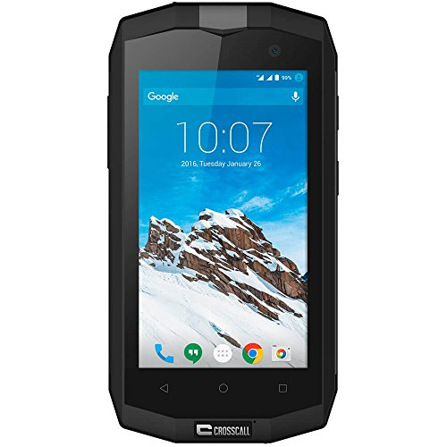 Crosscall Trekker-M1 Outdoor-Smartphone (4,5 Zoll, 1 GB RAM, 8 GB ROM, IP67, Android) schwarz