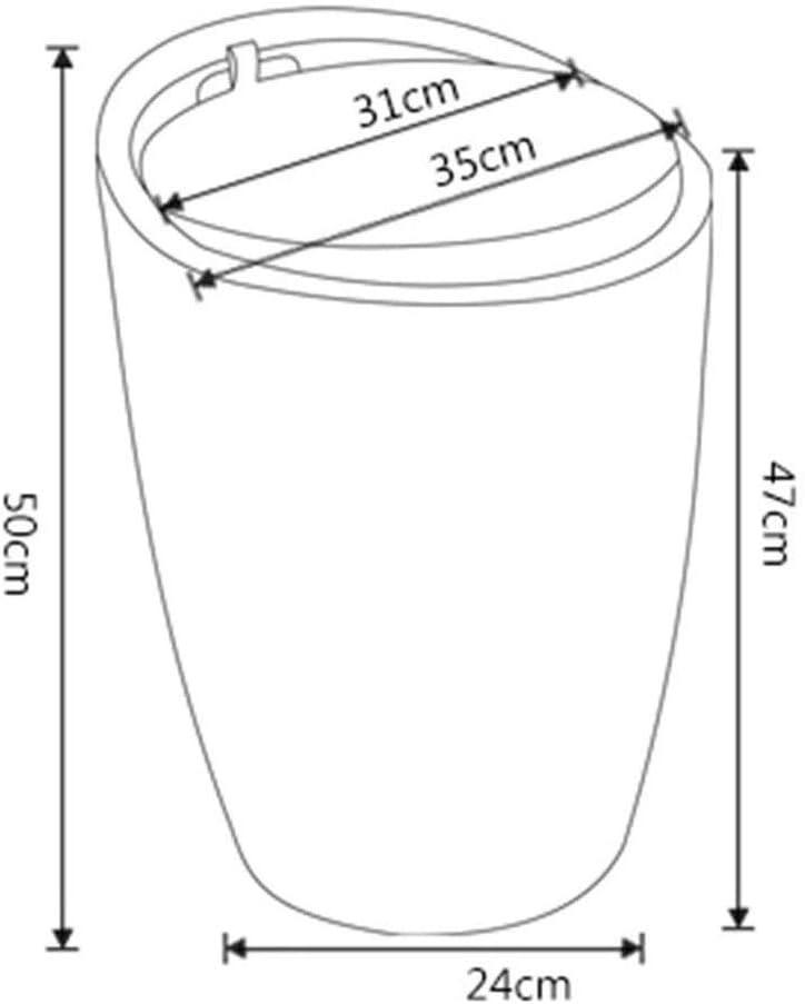 LINXUAN Tabouret Tabouret en Cuir Simple Changement de Mode Bench Chaussures de Rangement Chaussures Tabouret Barrel Chaise de Stockage Chaise 0904 (Color : D) H
