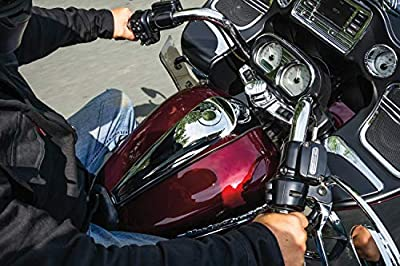 Kuryakyn 5688 Motorcycle Accent Accessory: Signature Series Smooth Dash Console by Jim Nasi for 2008-16 Harley-Davidson Motorcycles, Chrome by Kuryakyn