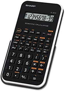 El-501xbwh Scientific Calculator, 10-Digit Lcd By: Sharp