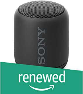 (Renewed) Sony SRS-XB10 Extra Bass Portable Splash-Proof Wireless Speaker with Bluetooth and NFC (Black)