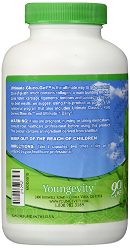 Youngevity Ultimate Gluco-Gel - 240 capsules