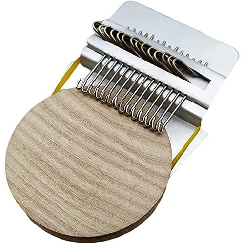 ISAKEN Herramienta de tejido pequeña, herramienta de coser de mano portátil, accesorio de reparación para manualidades de bricolaje, suministros para tejer, 12 ganchos