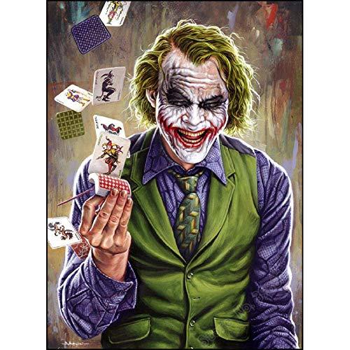 Puzzle 1000 pz herize Mini Puzzle Joker Joker Che Gioca a Poker Art cresciuti Giochi educativi Puzzle Gioco di