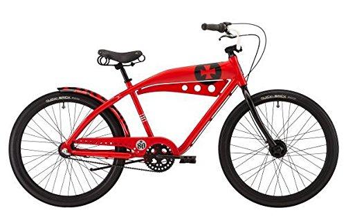 Felt Red Baron Cruiser, Rot, 18 Zoll
