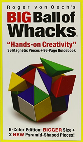 Big Ball of Whacks: 6-Color Edition: Bigger Size + 2 New Pyramid-Shaped Pieces!