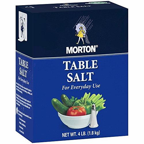 Morton Table Salt, 4 lbs.