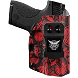 We The People Holsters - Red Spartan Camo - Right Hand Inside Waistband Concealed Carry Kydex IWB Holster Compatible with Hi-Point C9