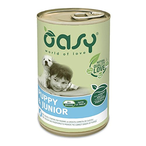 Oasy Dog Patè All Breeds Puppy&Junior 400 gr