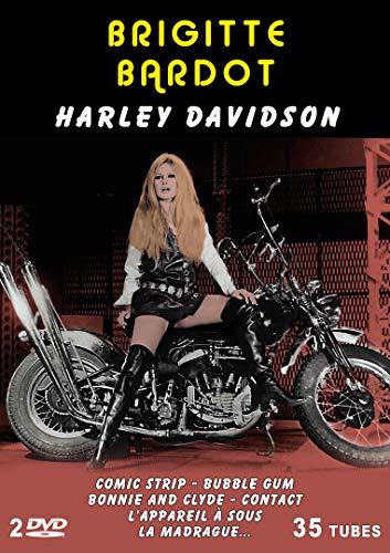 Brigitte Bardot - Harley Davidson - 35 tubes - 2 DVD