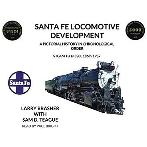 Santa Fe Locomotive Development audiobook cover art