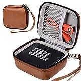 Hartschalen-Schutzhülle für JBL Go 1/2 Bluetooth-Lautsprecher, braun