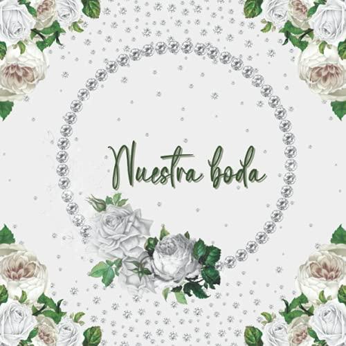 Libro de invitados boda: Libro de firmas, huellas y recuerdos boda personalizado...