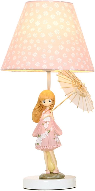 Hotel Tischlampe Prinzessin Lampe Nachttischlampe für Schlafzimmer Kreative Hochzeit Moderne Mode Nette Warme Mdchen Tischlampe E27 Licht A+