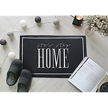 European Style Modern Floor Door Mat for Indoor Bathroom Home Rug