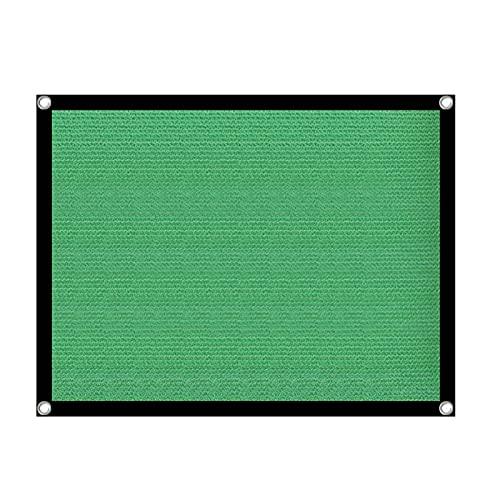 Toile d'Ombrage Ajourée, Toile D'Ombrage, Voile D'Ombrage Rectangulaire, Tissu d'ombre verte Jardin Etanche Shade Shade UV Résistant