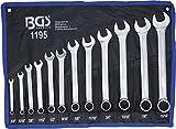 Bgs Set Di Chiavi Combinate in pollici dimensioni, 1/4 15/16 pollici, 12 pezzi, 1 pezzi, 1195