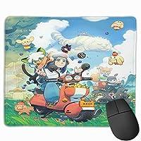 ねんどろいど 羅小黒戦記 マウスパッド ゲーミングマウスパッド 小型 パソコン 周辺機器 漫画 ゲーム 滑り止め おしゃれ キャラクター アニメ 人気 25cm*30cm