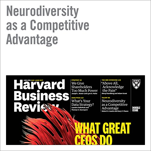 Neurodiversity As a Competitive Advantage copertina