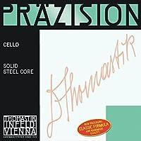 """Cello Precisionスチールソリッドコア用トーマス文字列1/2中クロームスケール600 mm / 23.6"""""""