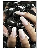 Poster Black Stein Nails DIN A3 Nagelstudio Nageldesign