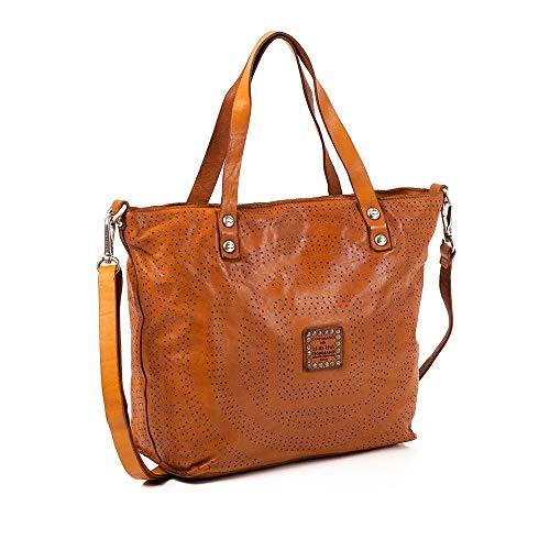Campomaggi Shopper Tasche Leder 28 cm