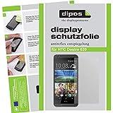dipos I 6X Schutzfolie matt kompatibel mit HTC Desire 620 Folie Bildschirmschutzfolie