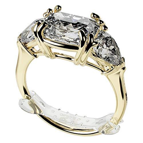 RINGO 大きい指輪のための見えないマルチサイズアジャスター10-Pack