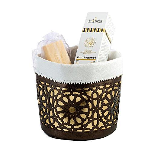 Belleza de Argán marroquí, secreto: Set de regalo con aceite de argán...
