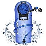 Zacro TPU Bolsa de Hidratación 2.5L, Mochila Hidratación Portátil sin BPA, Bolsa de Agua con...