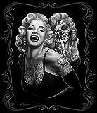DGA Marilyn Monroe Blanket, Smile Now, Queen