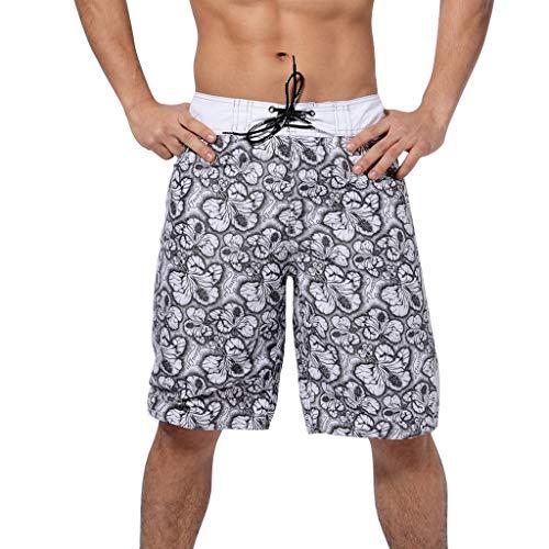 Uomo Costumi da Bagno Leisure,Zarupeng - Uomini di Estate Nuovo Stile Moda 3D Stampato Shorts Sport ricreativi Spiaggia Pantaloni