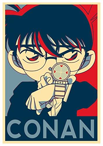 Instabuy Poster Propaganda - Detective Conan Shinichi - A3 (42x30 cm)