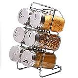 SHUMEISHOUT Moda hkwshop Condimentos Jar Especias Contenedor Cocina Condimento Caja Condimento Tarro de Vidrio Tarro Creativo Europeo Accesorios de Cocina Especias Condimentos Potes