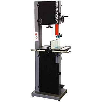 "Laguna Tools 110v 1.75hp Bandsaw with 12"" Resaw and 38"" Table Height - Model mband14bx110-175, Black"