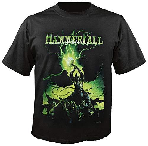 HammerFall No1014 Damen Tops Tee T-Shirt for Damen/Women's