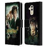 Officiel Harry Potter Movie Poster Chamber of Secrets III Coque en Cuir à Portefeuille Compatible...